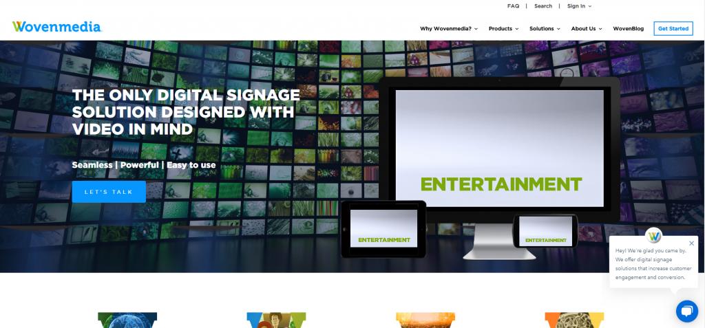 WovenMedia Screenshot Digital Media