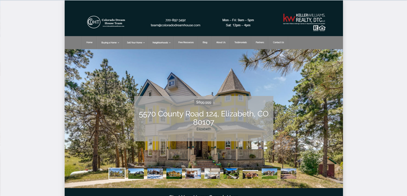 Colorado Real Estate Website Old